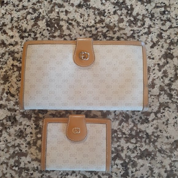 Gucci Handbags - COPY - vintage gucci wallet set
